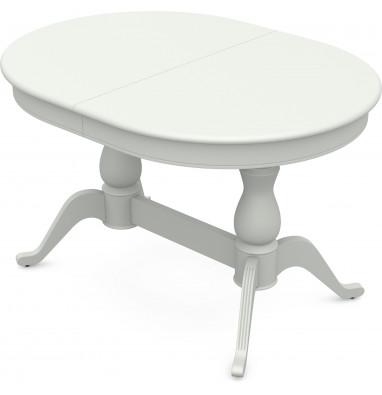 Стол раздвижной Фабрицио 2 (1200*900), Тон 9 (Эмаль белая)