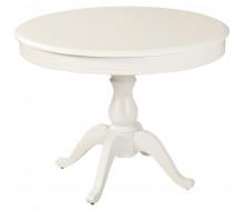 Стол раздвижной Фабрицио 1 (D 1000), Тон 9 (Эмаль белая)