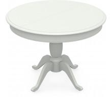 Стол раздвижной Леонардо 1 (D 1000), Тон 9 (Эмаль белая)