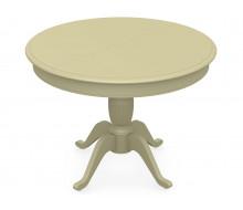 Стол раздвижной Леонардо 1 (D 820), Тон 10 (Слоновая кость)