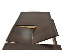 Стол раздвижной Кабриоль (1400*800), Тон 7 (Орех темный)