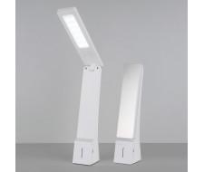 Светодиодная настольная лампа Desk белый/серебряный (TL90450)