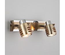Спот 23463/2 хром / античная бронза