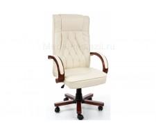 Компьютерное кресло Grandi кремовое