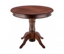 Стол деревянный Павия орех с коричневой патиной