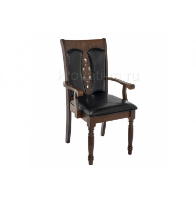 Кресло Gala dirty oak / black