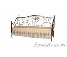 Кровать 9910 90х200 Античная бронза