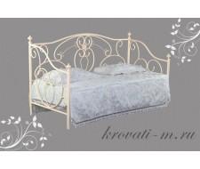 Кровать 9910 90х200 Античный белый
