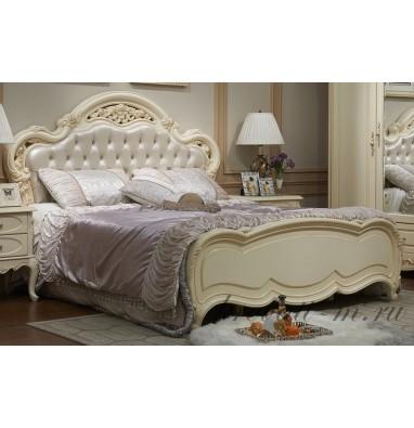 Кровать Милано 8802-С (ЭкоКожа с пуговицами)