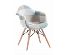 Кресло Mobil MK-4330-BL Пэчворк голубой