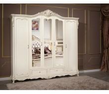 """Шкаф 5-дверный c зеркалами """"Глория"""""""