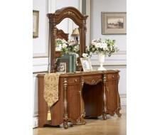 Туалетный столик с зеркалом и банкеткой Юлиана