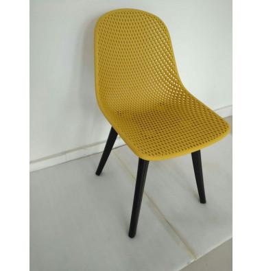 Стул MK-6703-YB Жёлтый/Черный