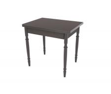Стол обеденный ЛС-831 (Столешница 7137 шоколад матовый/Ноги точеные Венге)