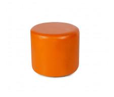 Пуф круглый ПФ-5 (Оранжевый)