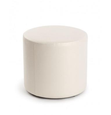 Пуф круглый ПФ-5 (Белый)