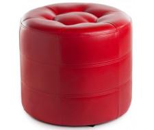 Пуф круглый ПФ-7 (Красный)