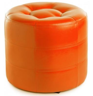 Пуф круглый ПФ-7 (Оранжевый)