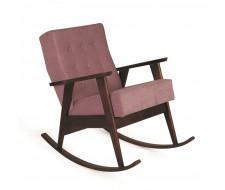 Кресло-качалка РЕТРО (темный тон / 08 - розовый)