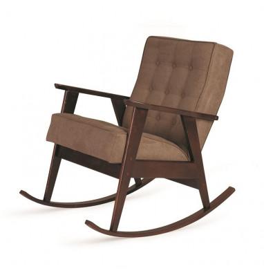 Кресло-качалка РЕТРО (темный тон / 05 - коричневый)