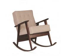 Кресло-качалка РЕТРО (темный тон / 03 - бежевый)