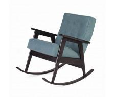 Кресло-качалка РЕТРО (венге / RS 29 - бирюзовый)