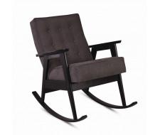 Кресло-качалка РЕТРО (венге / 11 - темно-серый)
