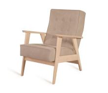 Кресло РЕТРО (беленый дуб / 03 - бежевый)