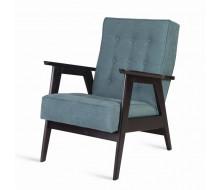 Кресло РЕТРО (венге / RS 29 - бирюзовый)