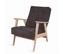 Кресло РЕТРО (беленый дуб / 05 - коричневый)
