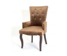 Кресло Виктория (темный тон / 6 - шоколад)