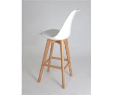Полубарный стул 635-S/65 (WHITE-07)