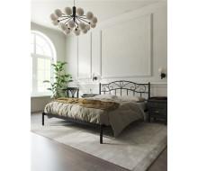 """Кровать """"Глэдис"""" без изножья (140х200/ноги металл/цвет Чёрный)"""