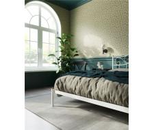 """Кровать """"Глэдис"""" без изножья (160х200/ноги металл/цвет Белый)"""