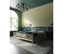 """Кровать с изножьем """"Глэдис"""" (160х200/ноги металл/цвет Бежевый)"""
