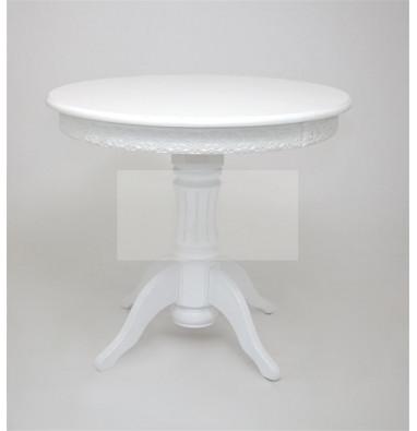 """Стол """"Милорд"""" (90 х120 + юбка) Белый"""