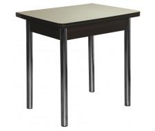 Стол обеденный ЛС-831 (столешница 1640 Песок/ ноги Хром)