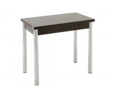 Стол обеденный ЛС-831 (ЛДСП/Венге/ ноги Хром)