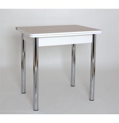 Стол обеденный ЛС-831 (ЛДСП/Ясень шимо св/ ноги Хром)