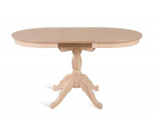 Стол обеденный Лилия-0110 (беленый дуб)