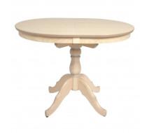 Стол обеденный Овальный-0110 (беленый дуб)