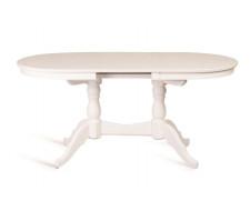 Стол обеденный Овальный-1300 (белая эмаль)