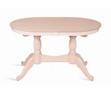 Стол обеденный Лилия-1300 (беленый дуб)