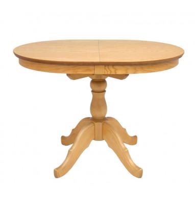 Стол обеденный Овальный-0110 (светлый тон)