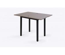 Стол раскладной Джази 50(100) х 70 см, Дуб серый/Черный
