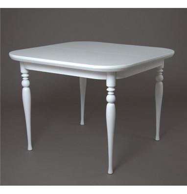 Стол обеденный Вальс-1000 (белая эмаль)