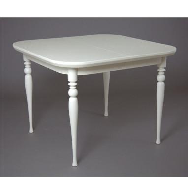 Стол обеденный Вальс-1000 (слоновая кость 9001)