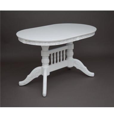 Стол обеденный Флорес-1300 (белый)