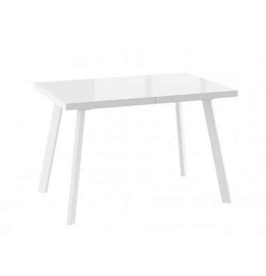 Стол Борг 120 стекло Белый/Белый