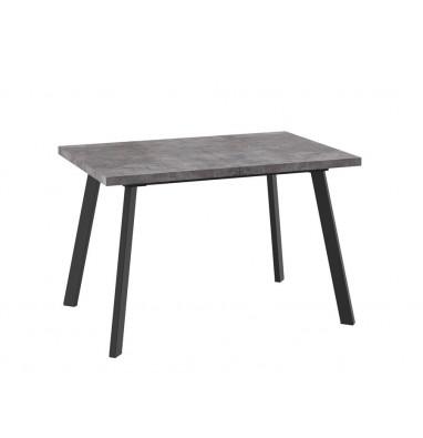 Стол Борг 120 Дымчатая керамика/Черный